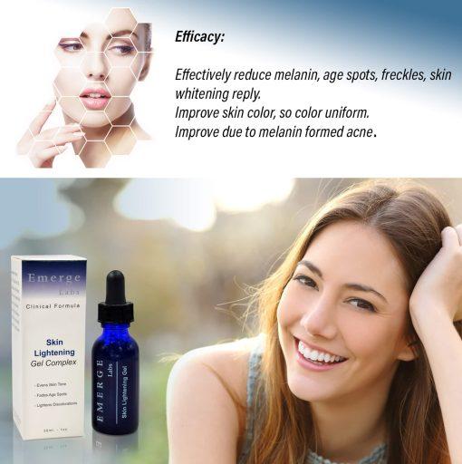 Skin Lightening Serum - Dark Spot Corrector with Kojic Acid For Face & Body - 1oz 2