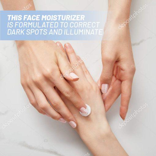 Organic Skin Lightening Cream With SPF 30 4