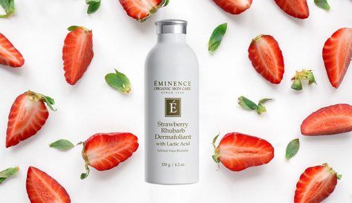 Eminence Strawberry Rhubarb Dermafoliant with Lactic Acid – 4.2 oz. 2