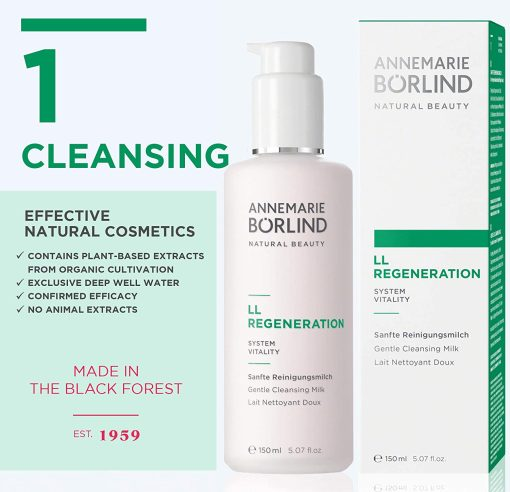 Annemarie Borlind LL Regeneration Cleansing Milk - 5.07oz 1