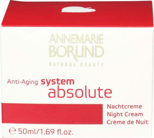Annemarie Borlind System Absolute Night Cream - 1.69oz 1