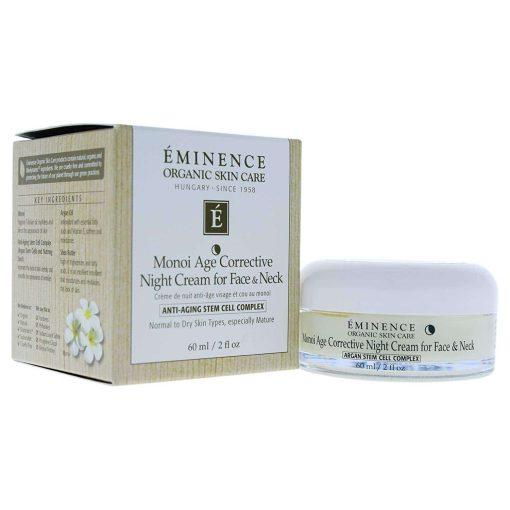 Eminence Monoi Age Corrective Night Cream for Face and Neck - 2fl oz 2