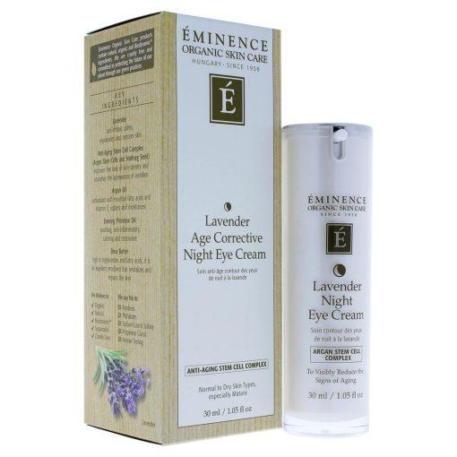 Eminence Lavender Age Corrective Night Eye Cream