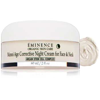 Eminence Monoi Age Corrective Night Cream for Face and Neck