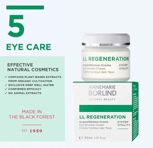 AnneMarie Borlind LL Regeneration Eye Wrinkle Cream - 1.01fl / 30ml 1