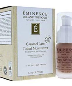Eminence Organic Beauty Caramel Latte Tinted Moisturizer SPF 25