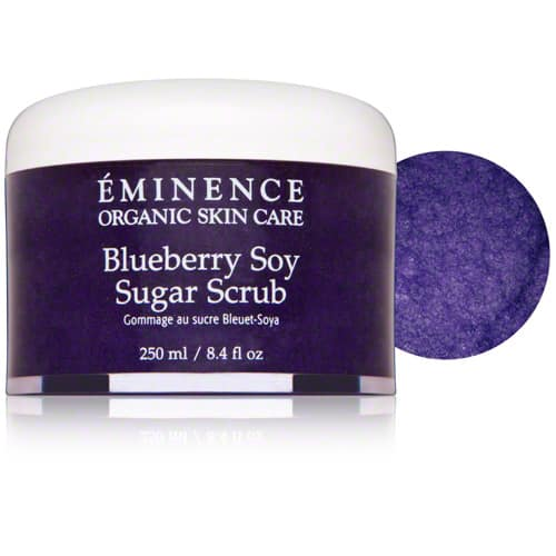 Eminence Blueberry Soy Sugar Scrub 8.4 oz Ultrasonic Facial Brush Cleaner Electric Face Pore Cleansing Spa Skin Care Ultrasound Massager , Face Brush, Pore Cleaning Brush
