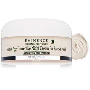Eminence Monoi Age Corrective Night Cream for Face and Neck - 2fl oz.