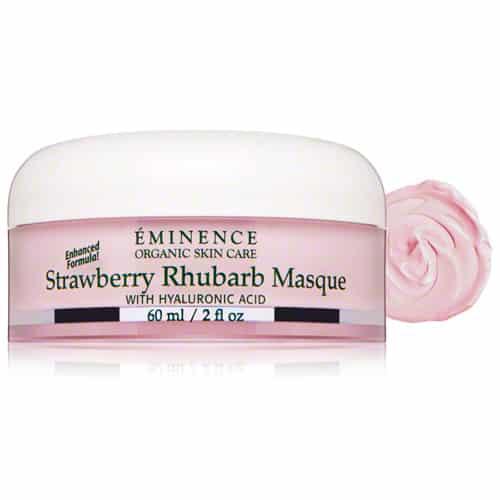 Eminence Strawberry Rhubarb Masque with Hyaluronic Acid – 2 oz.