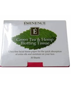Eminence Green Tea & Hemp Blotting Tissue – 30 Sheets