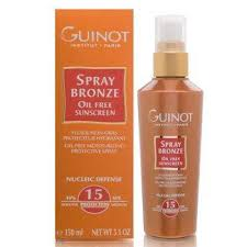 Guinot Spray Bronzer Oil Free Sunscreen SPF 15 - 5.1 oz