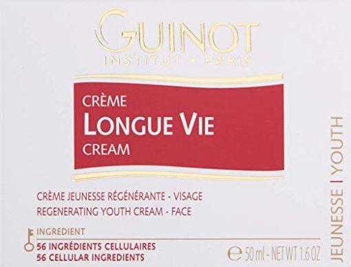 Guinot Longue Vie Cellulaire Facial Cream | Youth Renewing Skin Cream - 1.6 oz 1