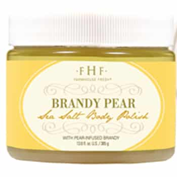 FarmHouse Fresh Brandy Pear Sea Salt Body Polish - 12oz 1