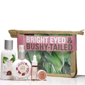 FarmHouse Fresh Bright Eyed and Bushy Tailed 4-Piece Facial Starter Set