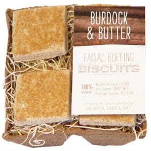 FarmHouse Fresh Burdock & Butter Facial Buffing Biscuits - 4 biscuits 1