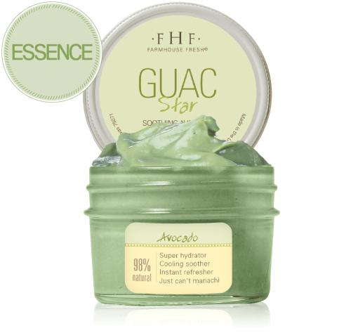 FarmHouse Fresh Guac Star - Soothing Avocado Hydration Mask