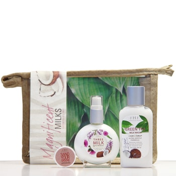 FarmHouse Fresh Magnificent Milk 3-piece Facial Starter Set 1