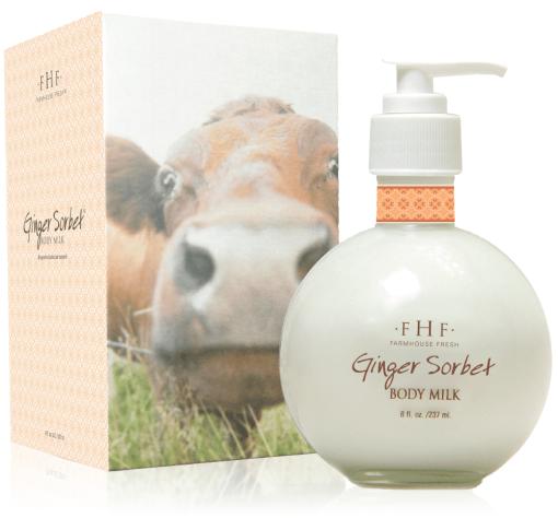 FarmHouse Fresh Ginger Sorbet Body Milk Lotion - 8oz 1