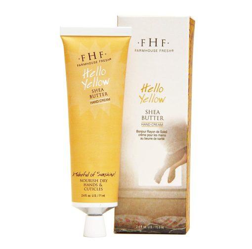 FarmHouse Fresh Hello! Yellow Shea Butter Hand Cream - 2.4oz 1