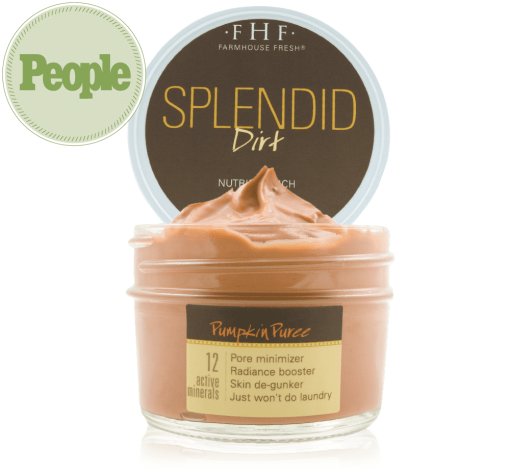 FarmHouse Fresh Splendid Dirt - Nutrient Mud Mask with Organic Pumpkin Puree