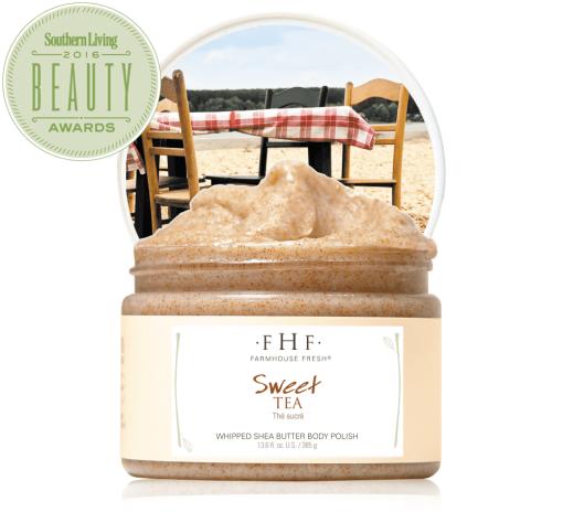 FarmHouse Fresh Sweet Tea Whipped Body Scrub - 12oz 1