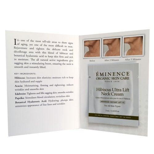 Eminence Hibiscus Ultra Lift Neck Cream - 1.7 oz 3