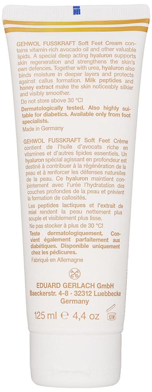 Gehwol FUSSKRAFT Soft Feet Cream - 4.4oz 1