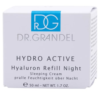 dr grandel hydro active hyaluron refill night cream sale. Black Bedroom Furniture Sets. Home Design Ideas