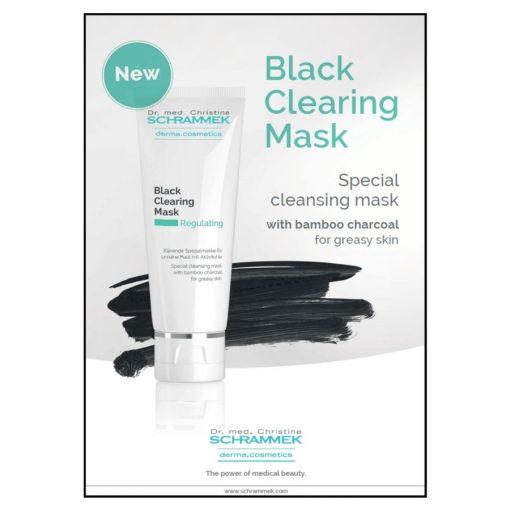 Dr. Schrammek Black Clearing Mask - 2.53 oz 2