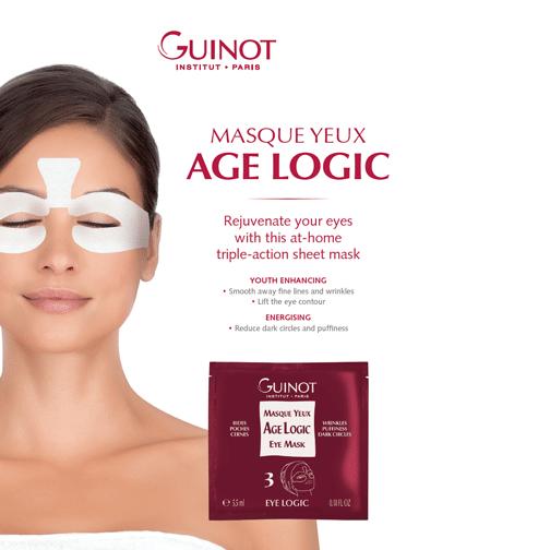 Guinot Masque Yeux | Age Logic Eye Mask - 0.18 oz 4