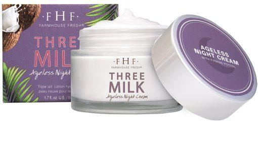 FarmHouse Fresh Three Milk Ageless Night Cream - 1.7 oz 1