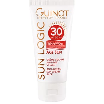 Guinot Sun Logic Sunscreen Cream Face & Body SPF 30 - 1.4 oz 1