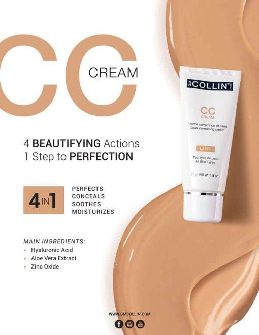 GM Collin CC Cream [ Latte ] - 1.7oz 2