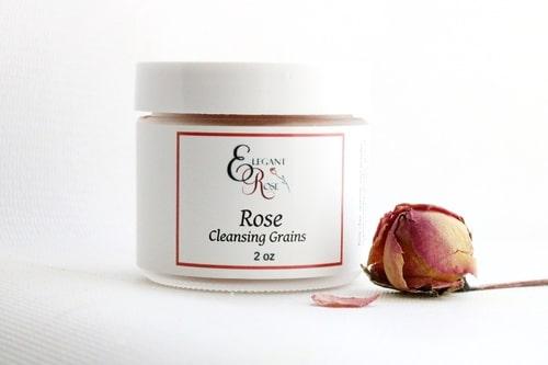 Rose Cleansing Grains, Natural Skin Care 1