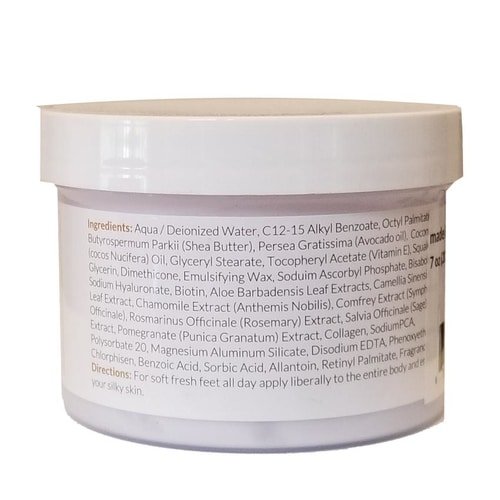 Lavender Body Butter with Collagen, 11 oz 3