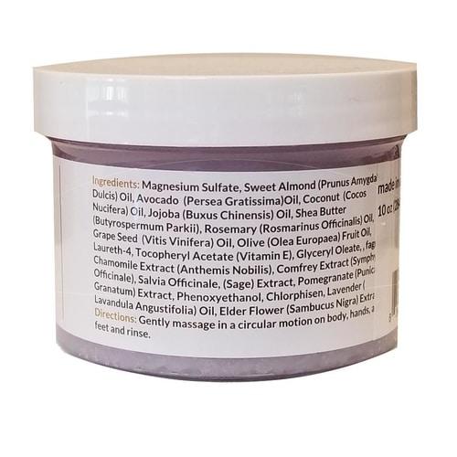 Lavender Sea Salt Scrub 2