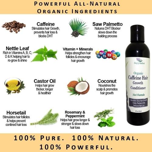 Organic Caffeine Hair Growth Deep Conditioner 2