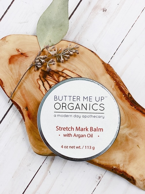 Organic Stretch Mark Body Butter with Argan Oil 1