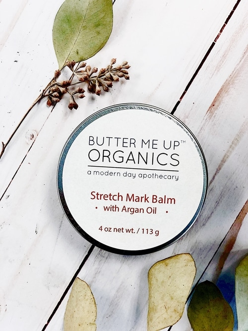 Organic Stretch Mark Body Butter with Argan Oil 2