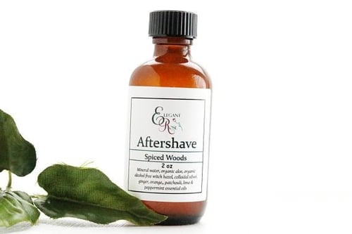 Spiced Woods Natural Aftershave 1