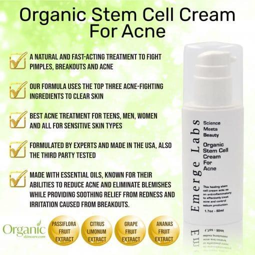 Organic Stem Cell Acne Cream 3