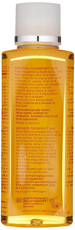 Gehwol Soft Feet Nourishing Bath - 7.0 oz 3