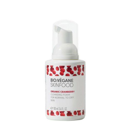 BioVegane Cranberry Cleansing Foam