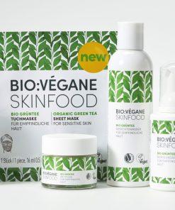 BioVegane Organic Green Tea Gift Set or Starter Kit
