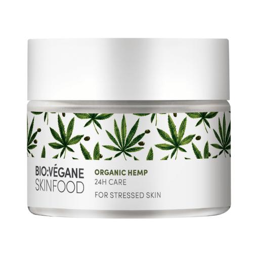 BioVegane Organic Hemp 24hr Moisturizing Cream