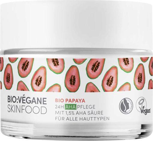 BioVegane Organic Papaya 24H AHA Care Moisturizer - 1.7oz 1