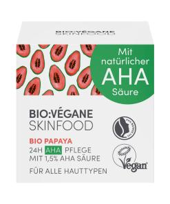 BioVegane Organic Papaya 24H AHA Care Moisturizer