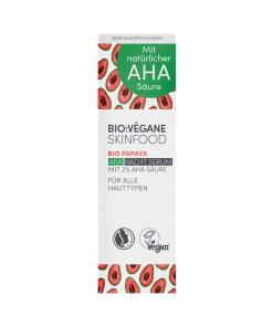 BioVegane Organic Papaya AHA Night Face Serum