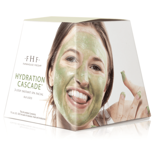 Farmhouse Fresh Hydration Cascade 3-step Instant Spa Facial 1