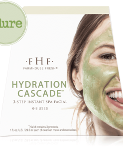 Farmhouse Fresh Hydration Cascade 3-step Instant Spa Facial